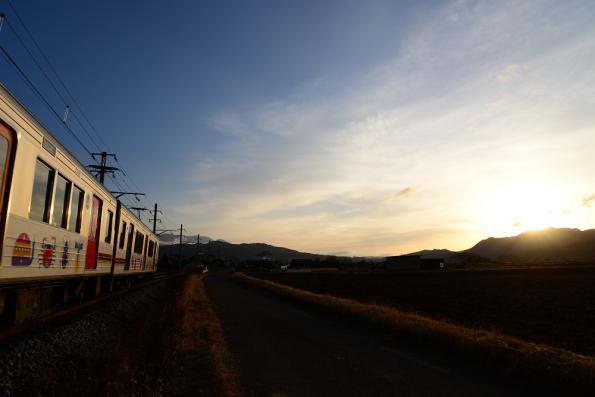 2012年12月21日 上田電鉄別所線 舞田~中野 1000系1002F