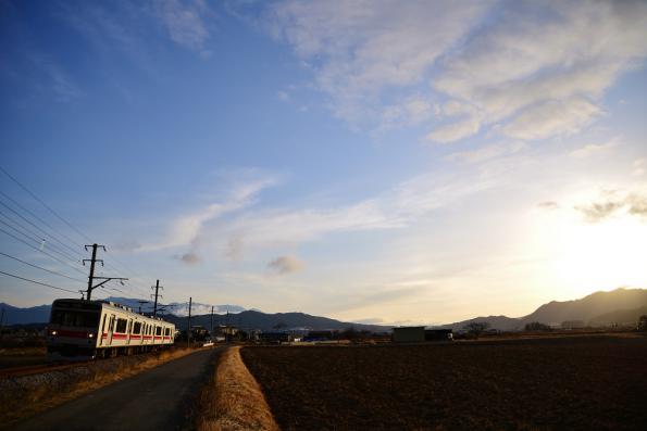 2012年12月21日 上田電鉄別所線 中野~舞田 1000系1004F