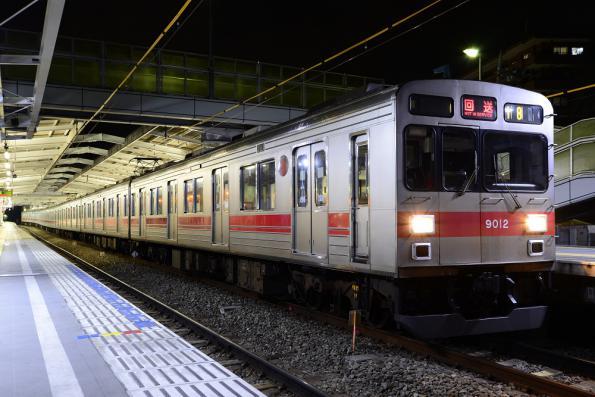 2012年12月29日 東急東横線 菊名 9000系9012F