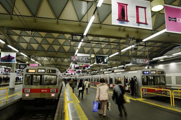 2012年12月30日 東急東横線 渋谷 9000系9012F/9014F