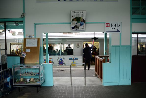 2013年1月2日 上田電鉄別所線 別所温泉 1000系1003F