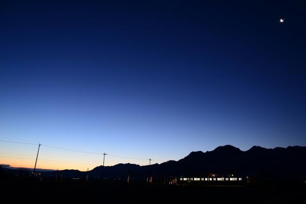2013年1月7日 上田電鉄別所線 舞田 1000系1001F