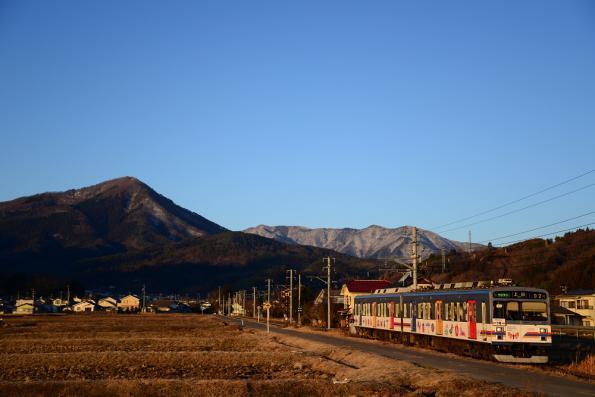 2013年1月7日 上田電鉄別所線 八木沢~舞田 1000系1002F