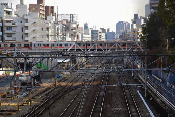 2013年1月9日 東急東横線 代官山〜渋谷 9000系9012F