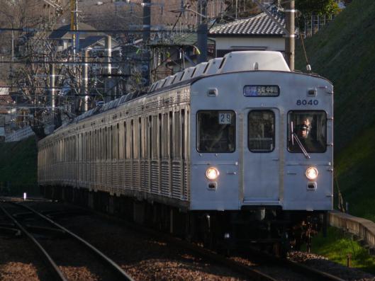 2007年3月12日 東急東横線 妙蓮寺 8000系8039F