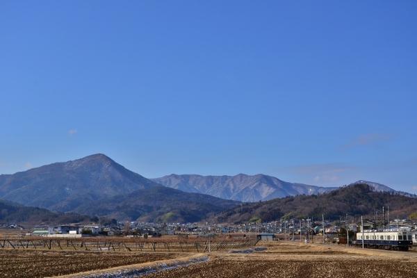 2014年1月15日 上田電鉄別所線 舞田~中野 7200系7253F