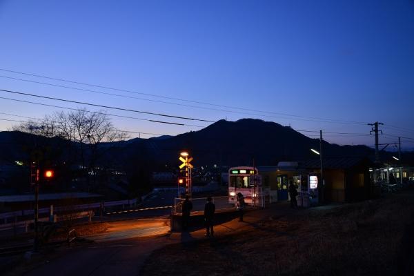 2014年1月15日 上田電鉄別所線 寺下 1000系1002F