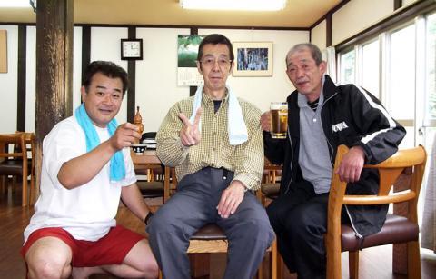 秋山郷雄川閣