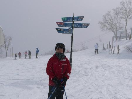 山頂は-13℃…さむ~
