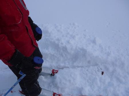 深雪に苦戦しながらも楽しい?