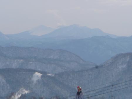 樽前山と溶岩ドームも見えました~