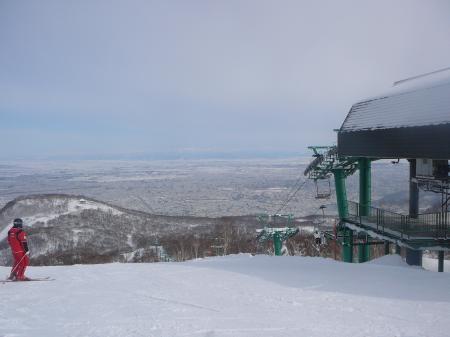 今年一番のスキー日和!