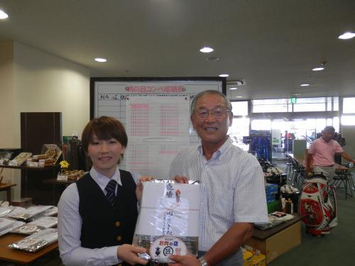 肉コンペ2度目の優勝(2012.6.29)