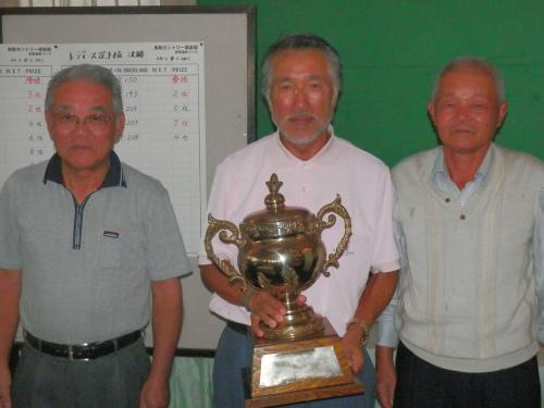 2012グランドシニア選手権上位3名