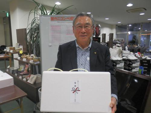 蟹カニコンペ①優勝・安住氏