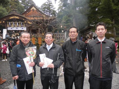 平成25年1月2日宇部神社初詣