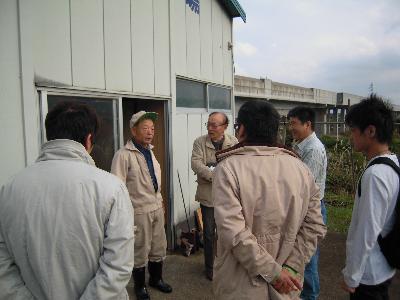 糸魚川にて環境資源調査活動