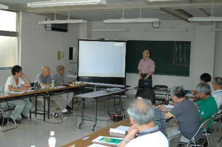 糸魚川ジオパークカレッジ講義概要(2限目)