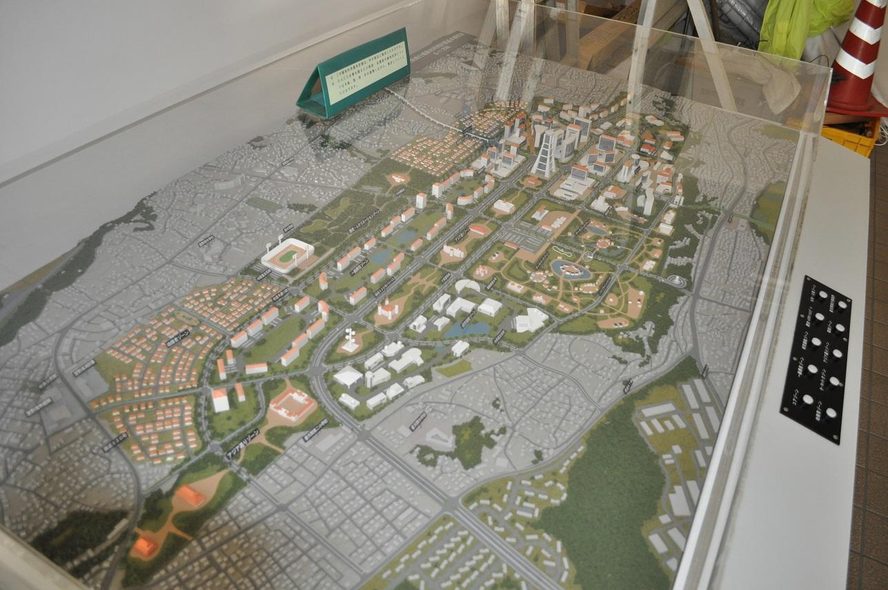 普天間基地跡地利用模型