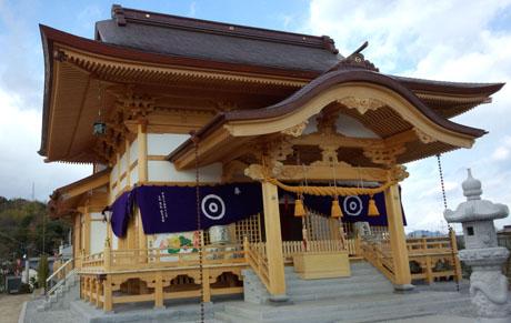 白蛇神社!