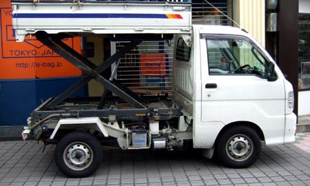 軽ダンプトラック