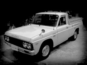 昔のピックアップトラック