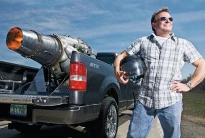 軽トラにジェットエンジン