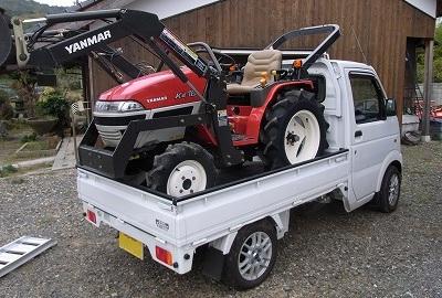 トラクターの積載