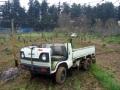 改造した軽トラック