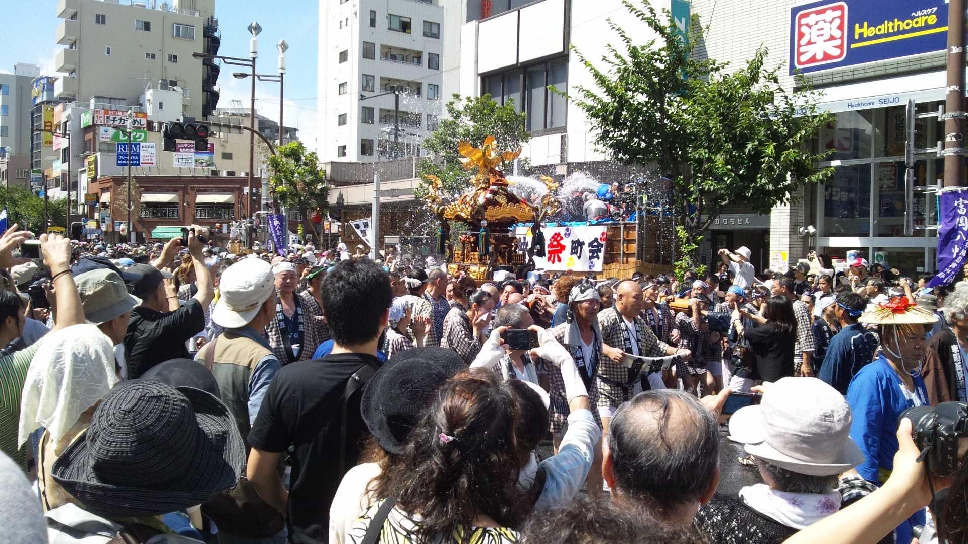 深川祭り1