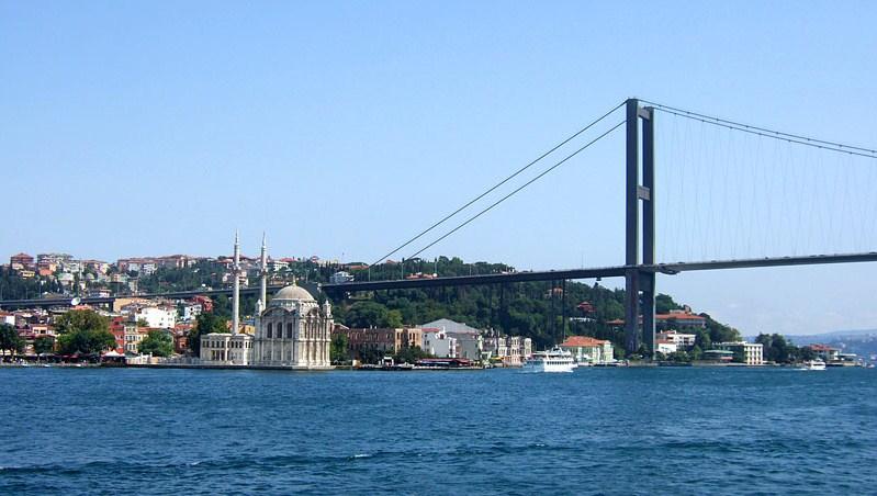 イスタンブール ポスポラス海峡