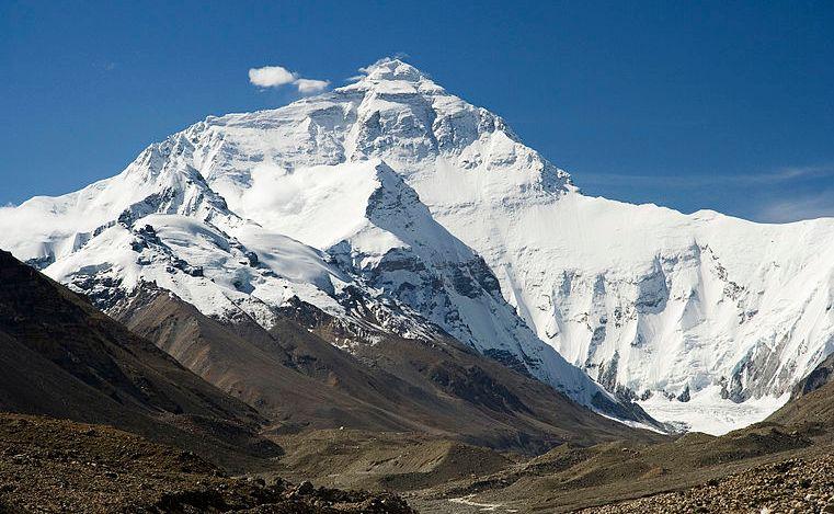 エベレスト8848m