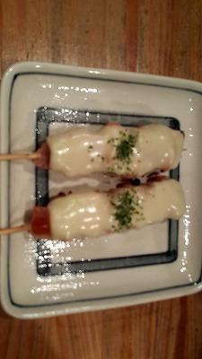 大井町チーズ焼き鳥