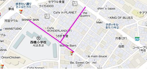 弘大入口周辺