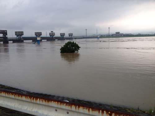 筑後川氾濫寸前1
