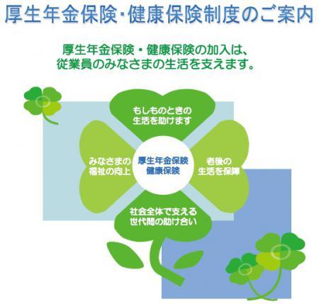 事業主の皆様へ~厚生年金保険・健康保険制度のご案内~日本年金機構