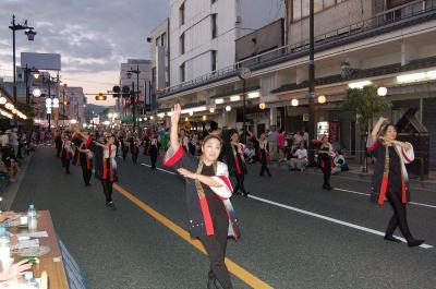 作州津山商工会女性部ごんごおどり参加