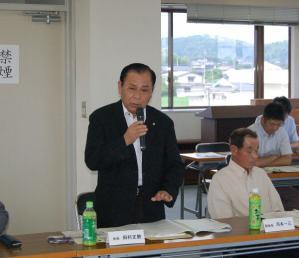 津山市議会議員・作州津山商工会関係者との懇談会