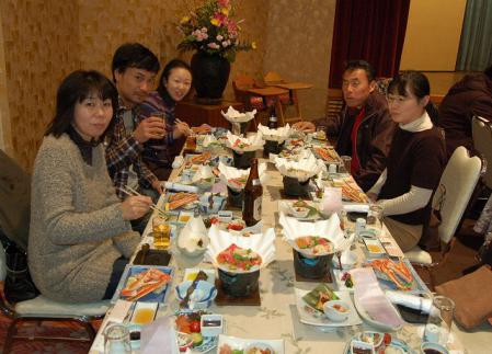 会員親睦旅行  於:松江 平成24年12月2日