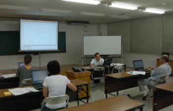 作州津山商工会パソコン講習会(パソコン入門)久米会場
