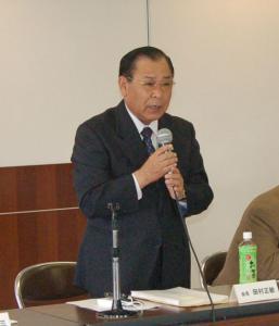 作州津山商工会平成24年度第1回理事会(奈義支所)
