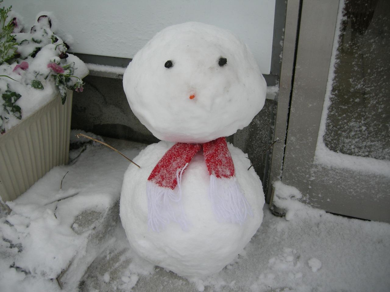 140208雪だるま02