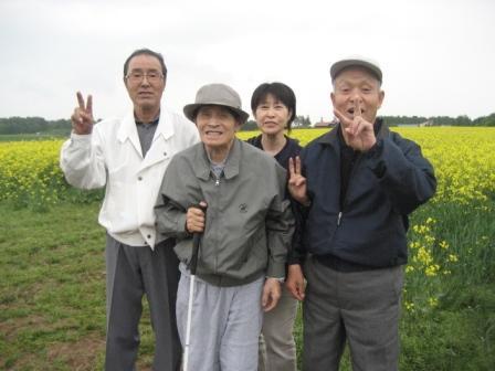 2012.6 菜の花見学 016