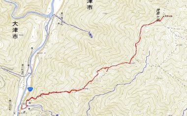武奈ヶ岳25年1月13日