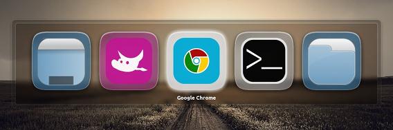 Ubuntu Touch Launcher icons Unity スイッチャー アイコン