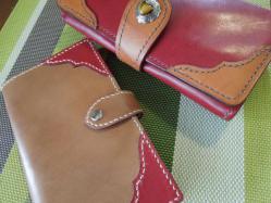 財布とコラボ