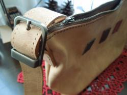 ショルダーバッグの肩紐部分