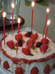 yumiちゃんの手作りケーキ!