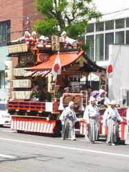 北海道神宮祭の山車