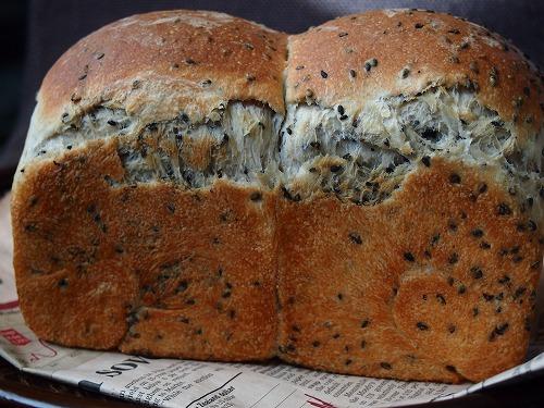 黒ゴマ食パン2